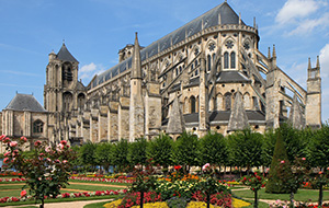 4.Schitterende kathedraal in Bourges