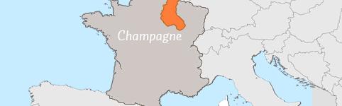 Kaart van Champagne