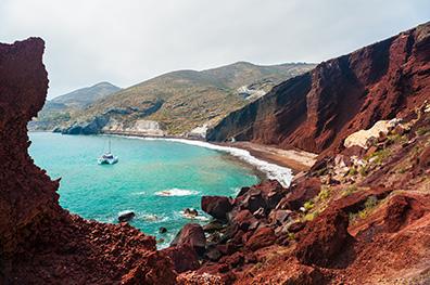 3 stranden in Santorini