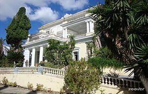 3. Het paleis van Sissi: Achilleion