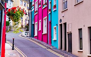 Kleurrijke in Kinsale