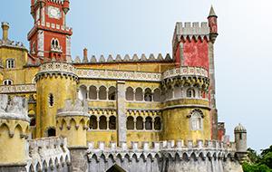 3. Kleurrijk Palácio da Pena