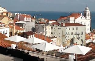 Video over Costa de Lisboa