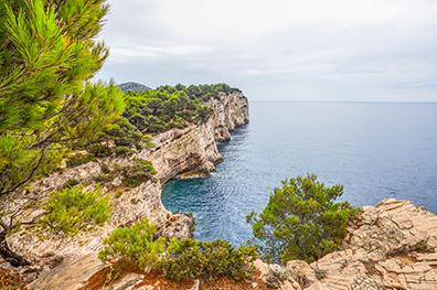 5x natuur en rust in Dalmatië