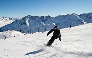 Wandelen of skiën in Sölden