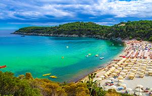 Mooi strand bij Fetovaia