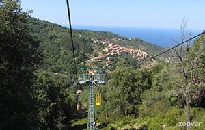 Uitzicht vanaf Monte Capanne