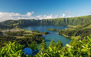 Het hele jaar door fietsen op de Azoren