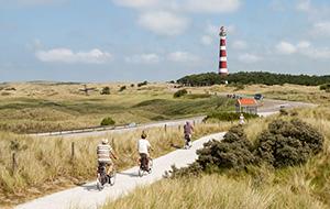 Het fietsroutenetwerk van Friesland