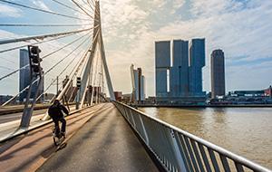 Stedelijke routes in Zuid-Holland