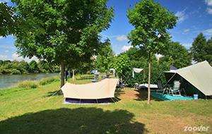 De natuur in: Camping Huttopia La plage Blanche