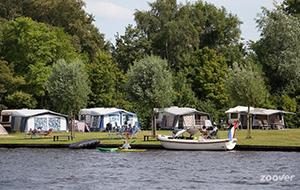 Vakantie aan het water op camping It Wiid