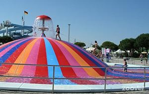 Waterpret bij Parco Aquasplash