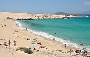 Corralejo: gezellige badplaats Fuerteventura