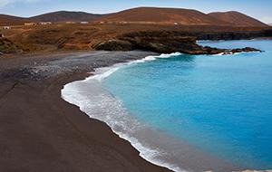 Het zwarte strand van Ajuy
