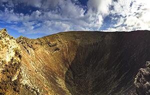 Hiken langs vulkanen