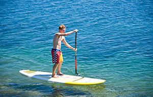 Dagtrip stand-up paddling op Isla de los Lobos