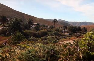 Video over Fuerteventura