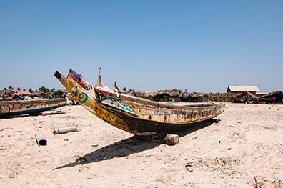 Mooiste stranden van Gambia