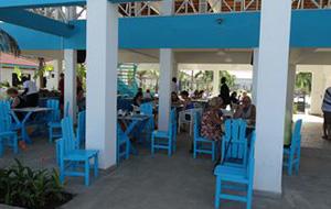 3. Hotel Djembe Beach met prachtig uitzicht