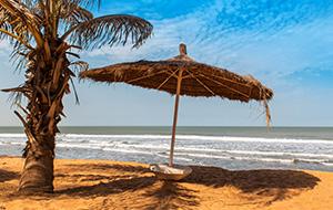 4. Kololi heeft een breed en lang strand