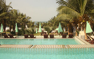 5. Zelfgekweekte groenten en fruit bij Hotel Coco Ocean Resort