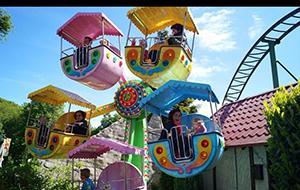 Speelplezier in Amusementspark Tivoli