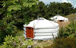 Overnacht in een Yurt