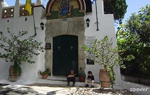Authentiek Grieks: Monastery of Paleokastritsa
