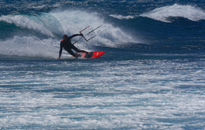 Bedwing de golven rond Gran Canaria
