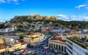 De Griekse oudheid van dichtbij in Athene