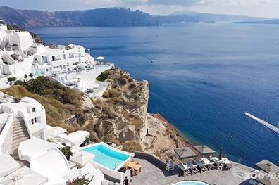 De idyllische Cycladen-eilanden