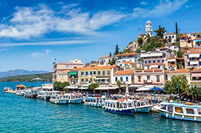 Het vasteland van Griekenland