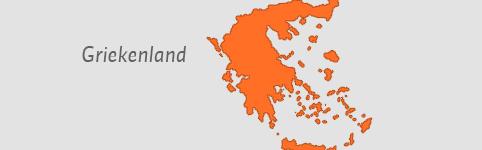Kaart van Griekenland