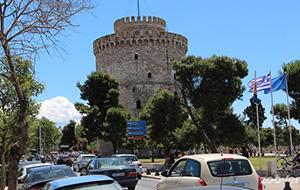 De witte toren van Thessalonica