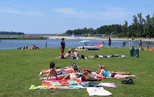 Camping Lauwersoog ligt vlakbij het strand