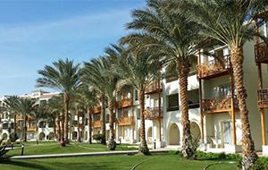 Het waterpark van Hotel Pickalbatros Dana Beach Resort