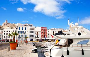 Bezoek het populaire Ibiza-stad (Eivissa)
