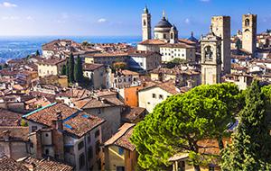 Het middeleeuwse Bergamo