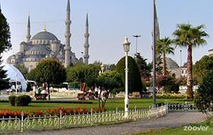 Bewonder de Blauwe Moskee