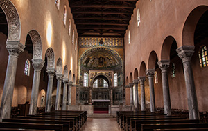Terug in de tijd in Euphrasius Basilica