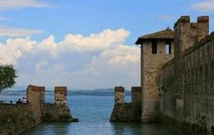 Historisch: kasteel Rocca Scaligera