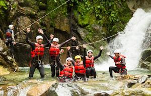 Voor een actieve belevenis: canyoning en raften