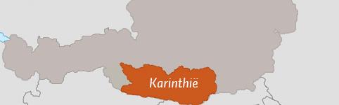 Kaart van Karinthië
