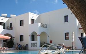 5. Appartement Zephyros village is kleinschalig met moderne, grote appartementen