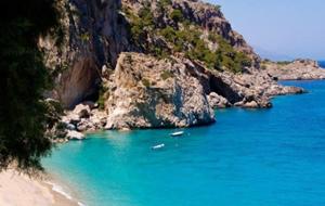 3. Het prachtige strand bij Panagia