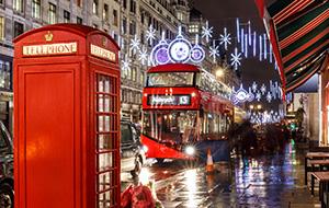 Proef de kerstsfeer in Londen