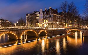 Light up festival in Amsterdam