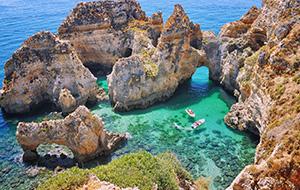 Gezellige sfeer in Lagos in Algarve
