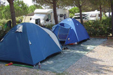Camping Valle Gaia in Toscane